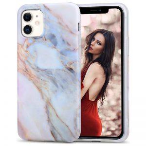 iPhone 11 Fall Marmor Abdeckung Marmor Druck Fall